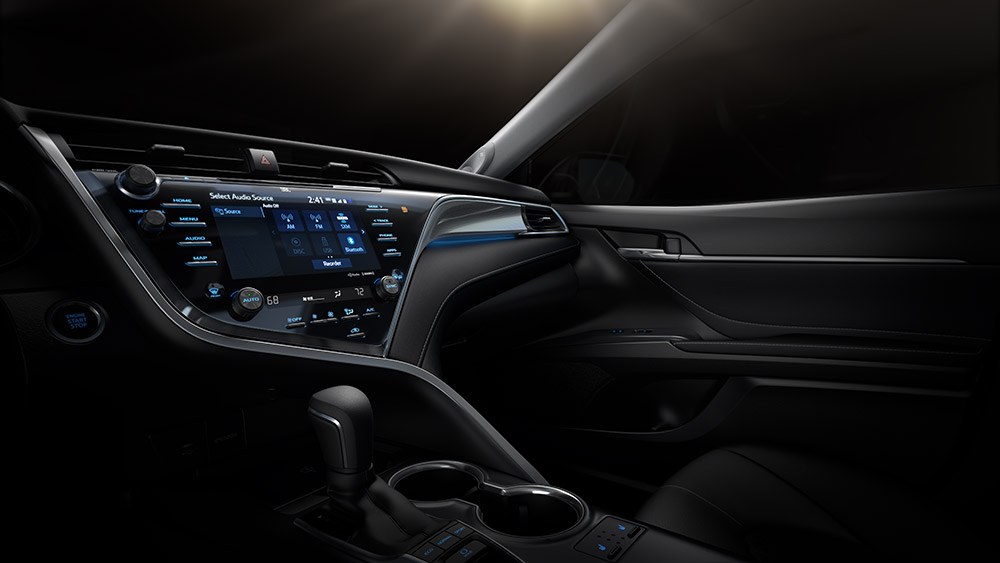 Interior Of The New Camry